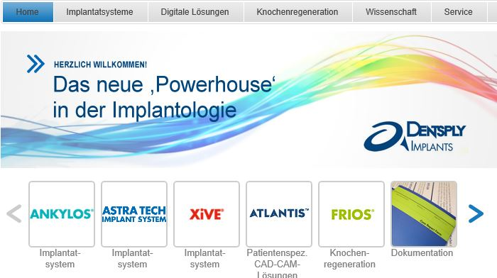 dentsply implantology powerhouse